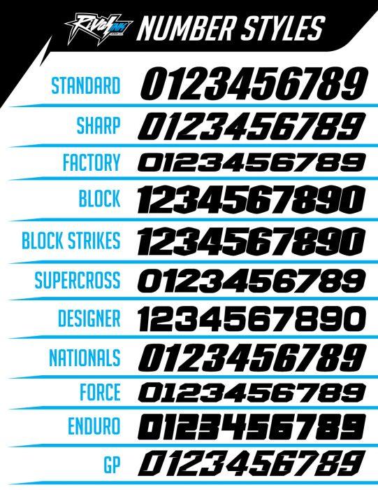 CUSTOM MOTOCROSS GRAPHICS - Rival Ink Design Co | Custom ...