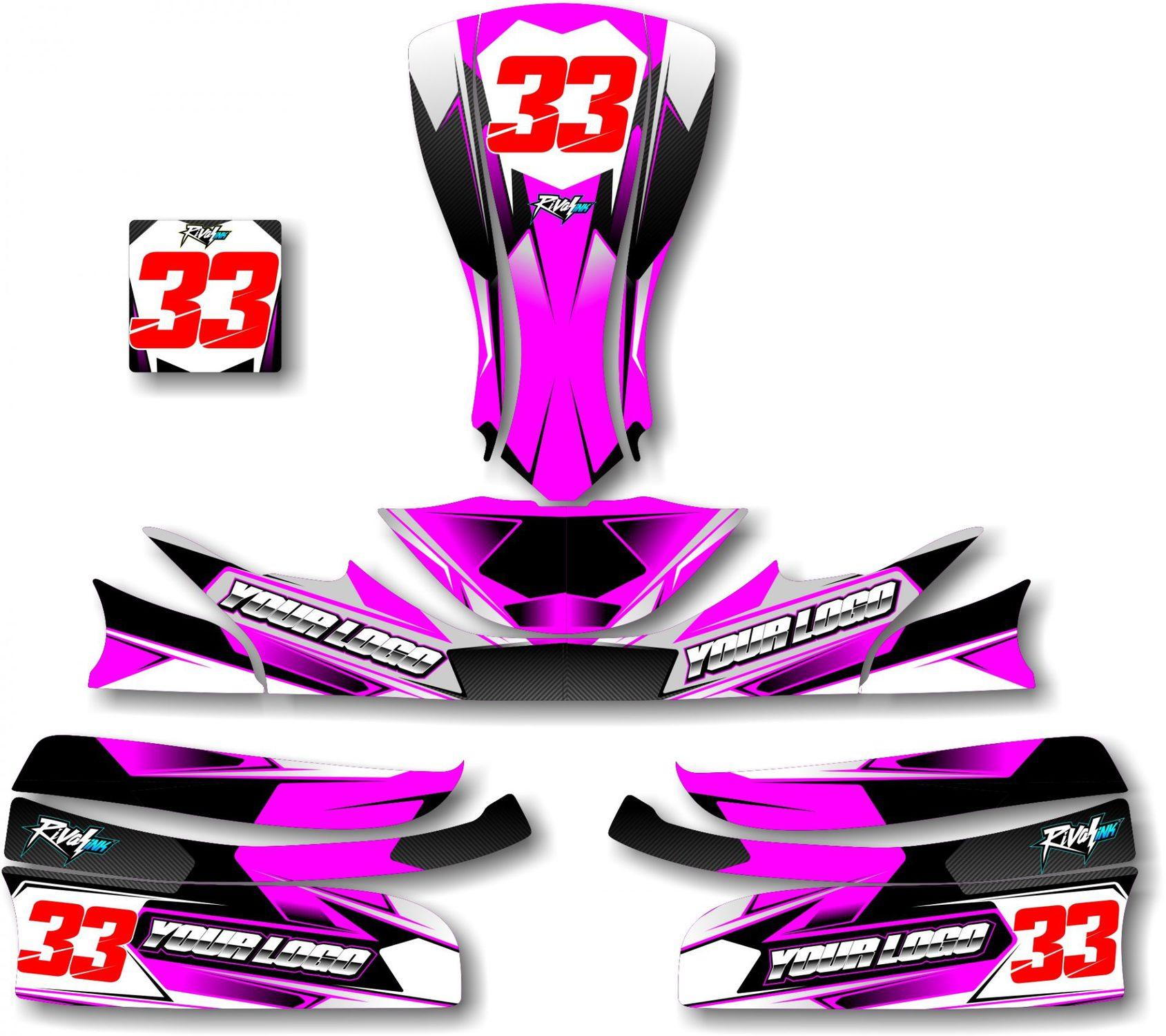 Go Kart Graphic Designs