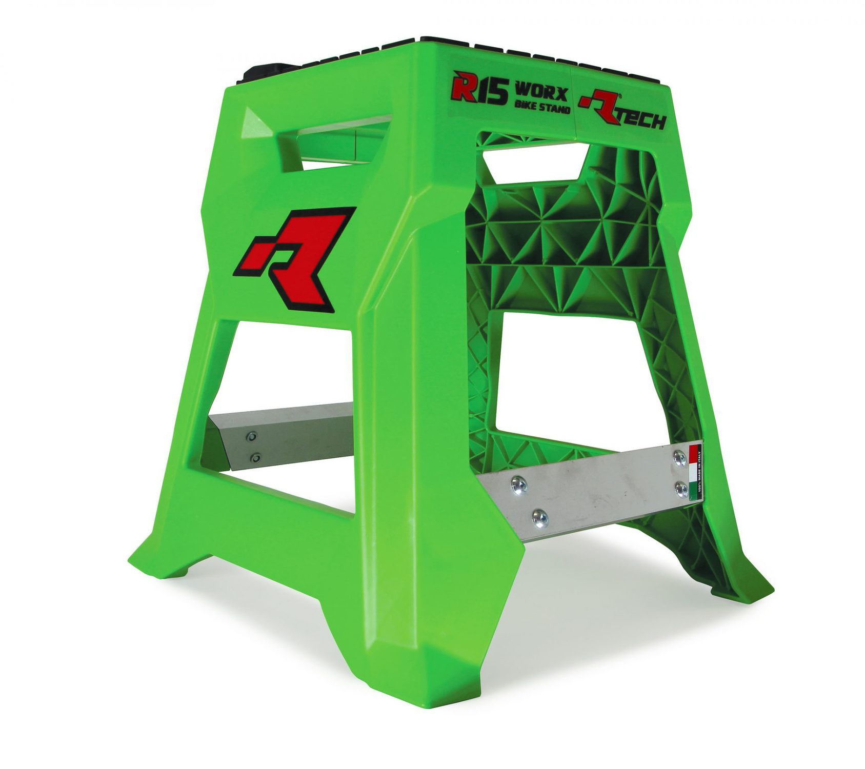 R Tech Worx Bike Stand Green Rival Ink Design Co