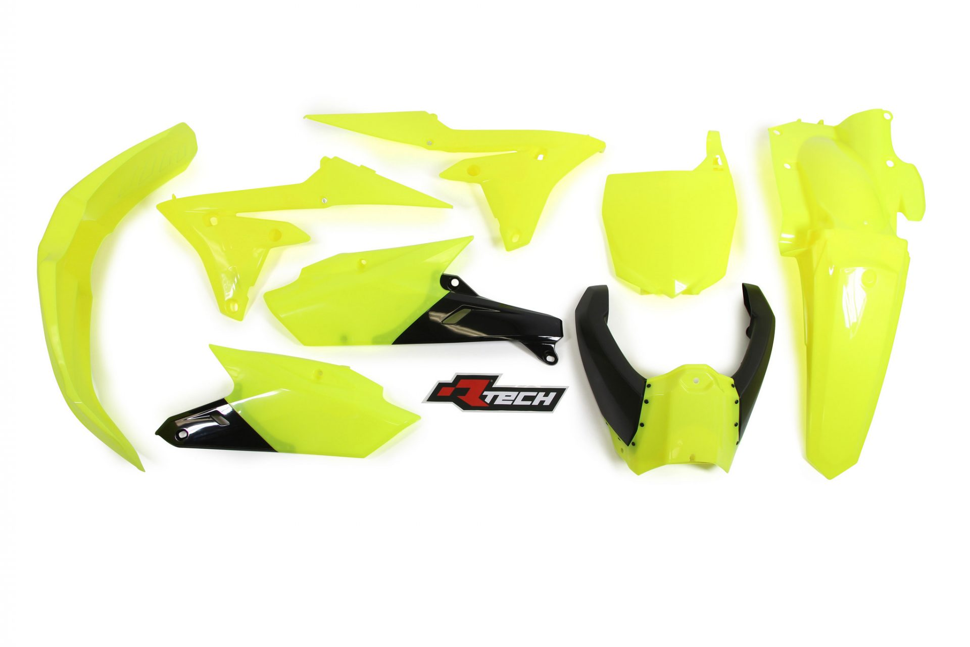 Neon yellow kit rival ink design co custom motocross graphics - Rtech Neon Yellow