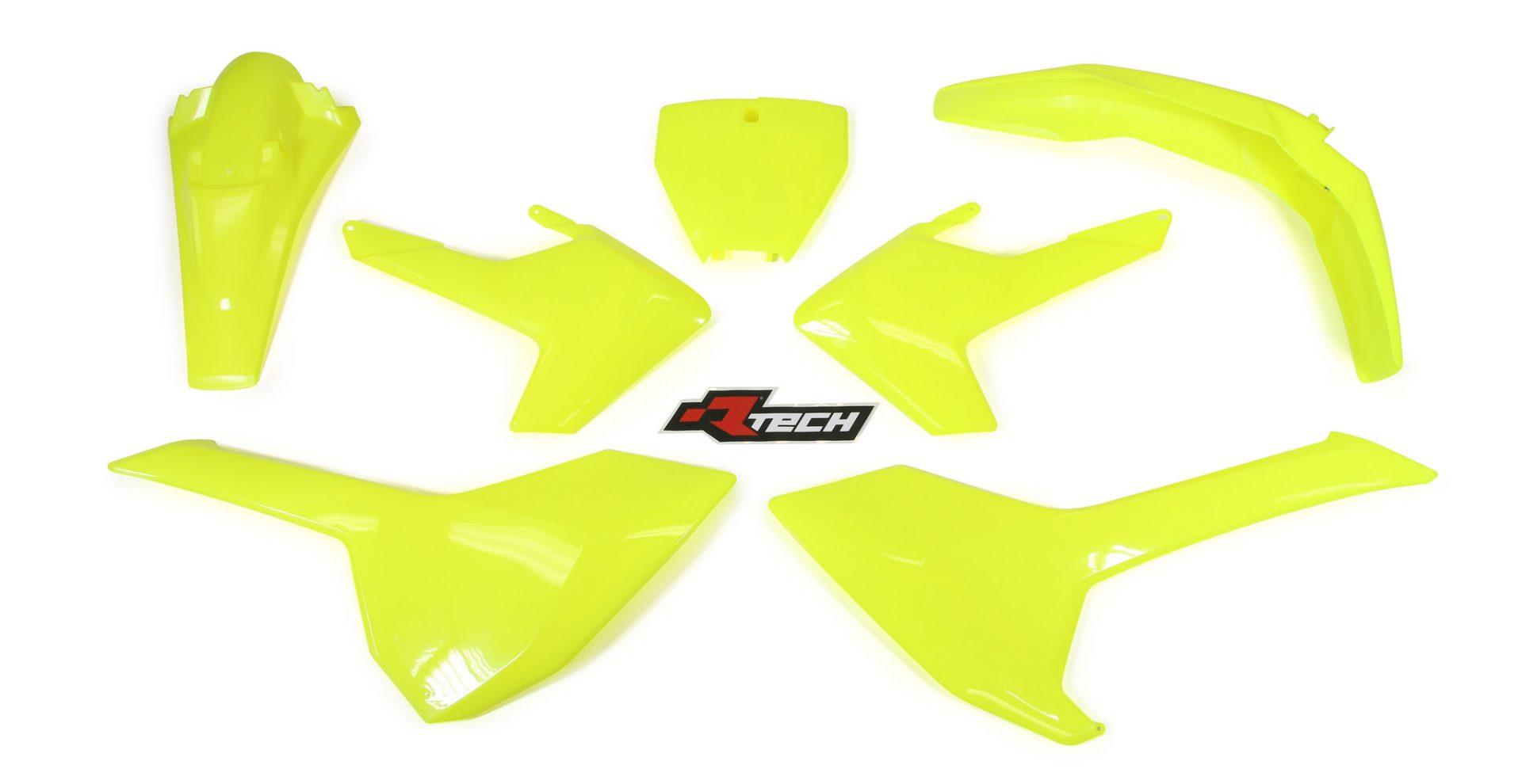 Neon yellow kit rival ink design co custom motocross graphics - Rtech