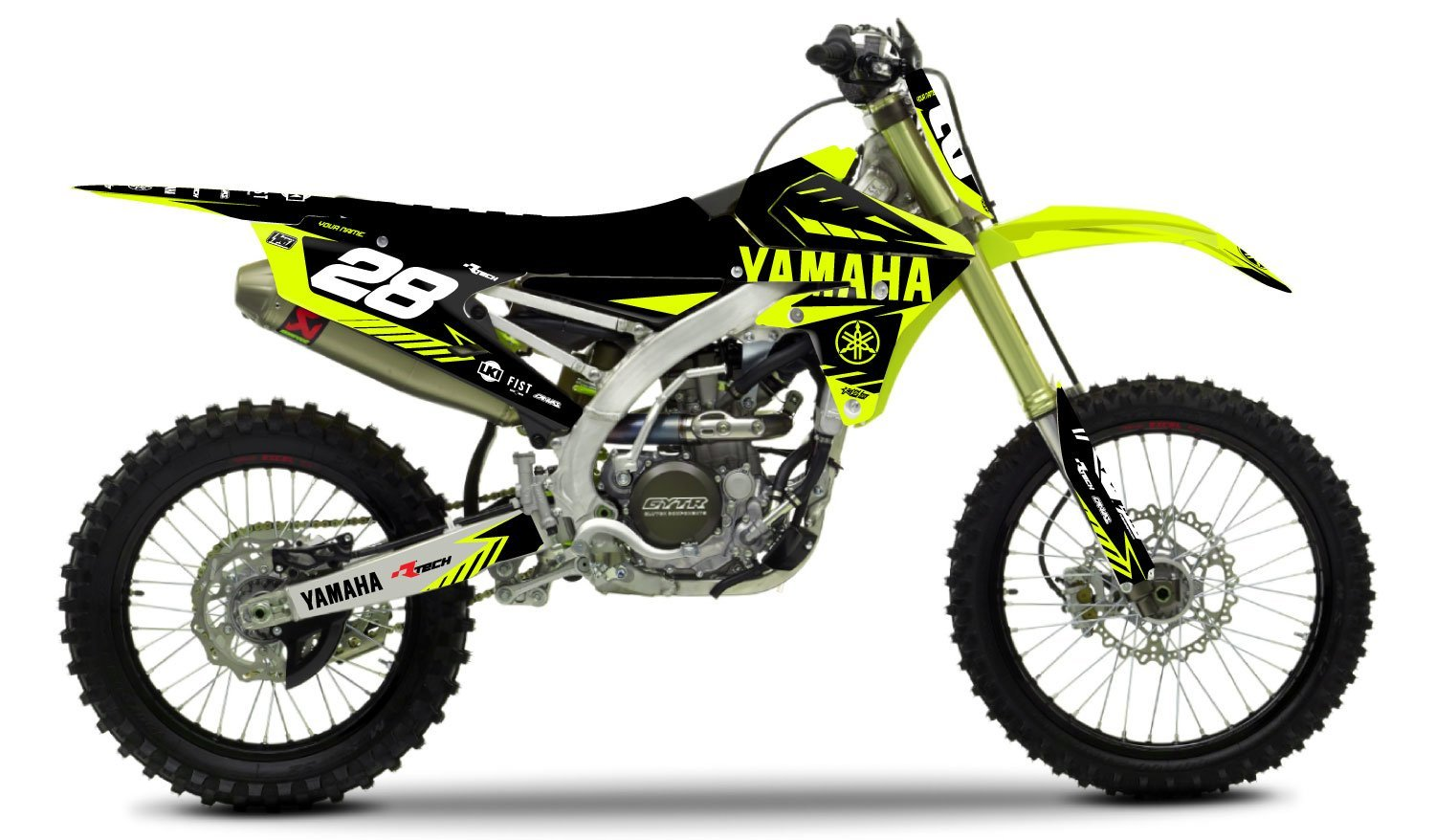 YAMAHA NEON KIT Rival Ink Design Co