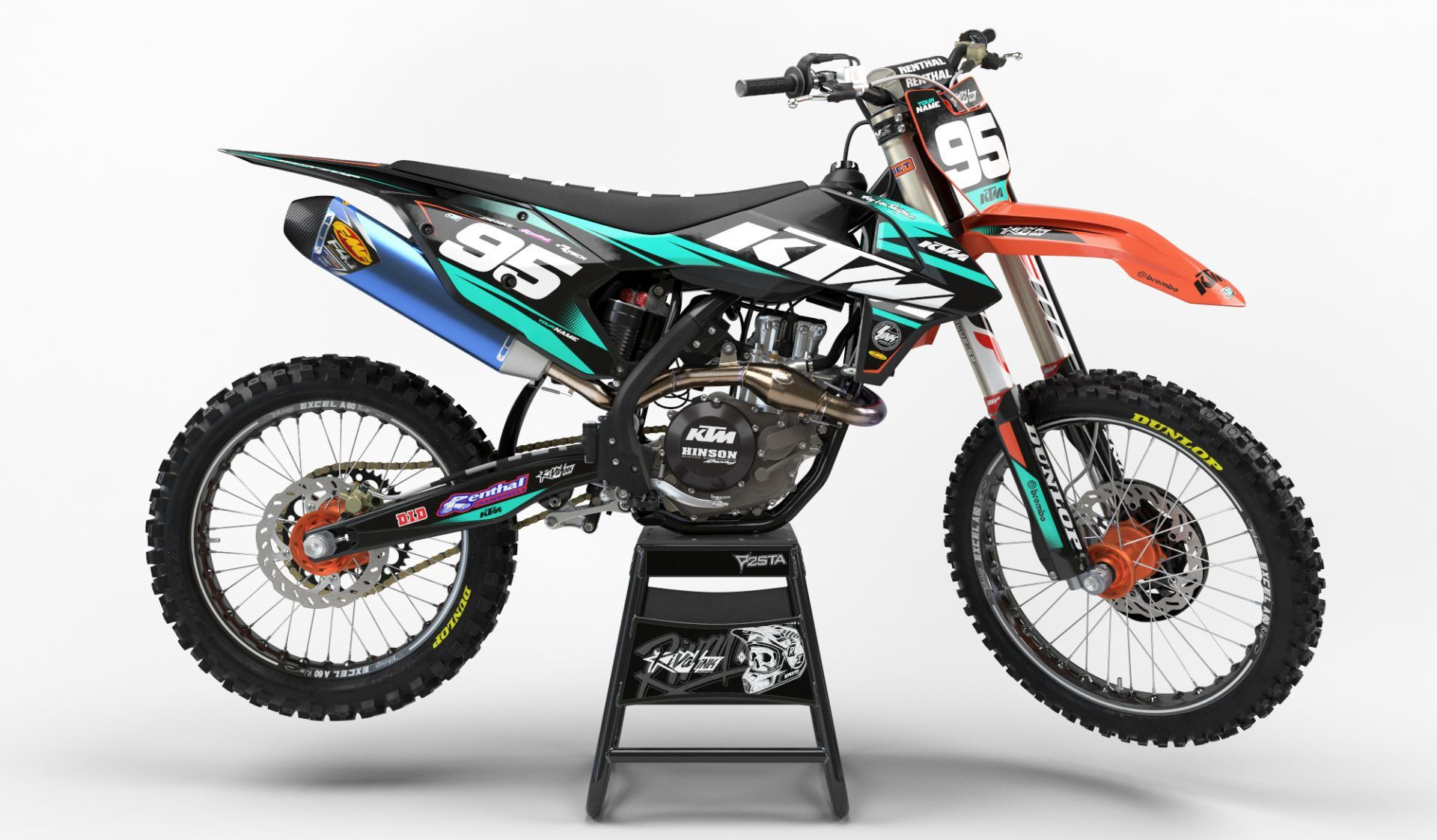 Custom Ktm Motocross Graphics