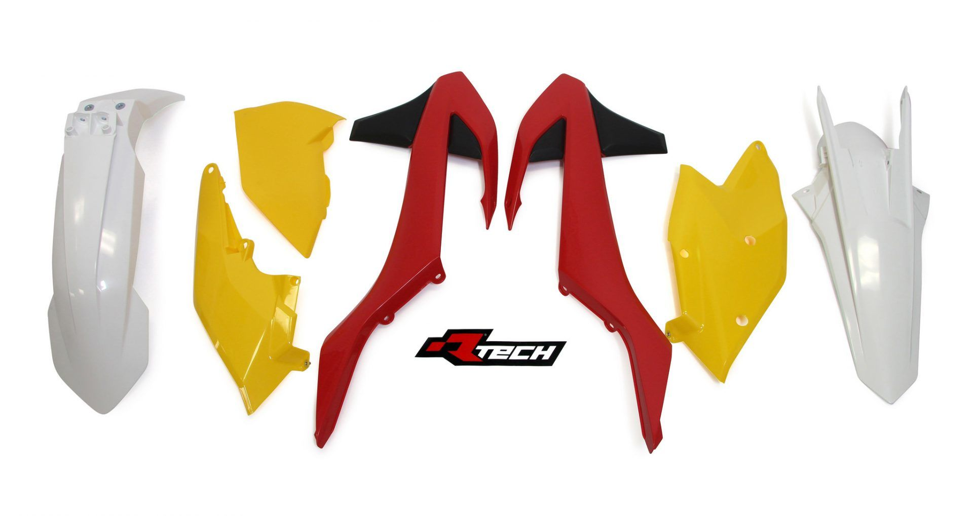 Neon yellow kit rival ink design co custom motocross graphics - Rtech Vintage Red Yellow