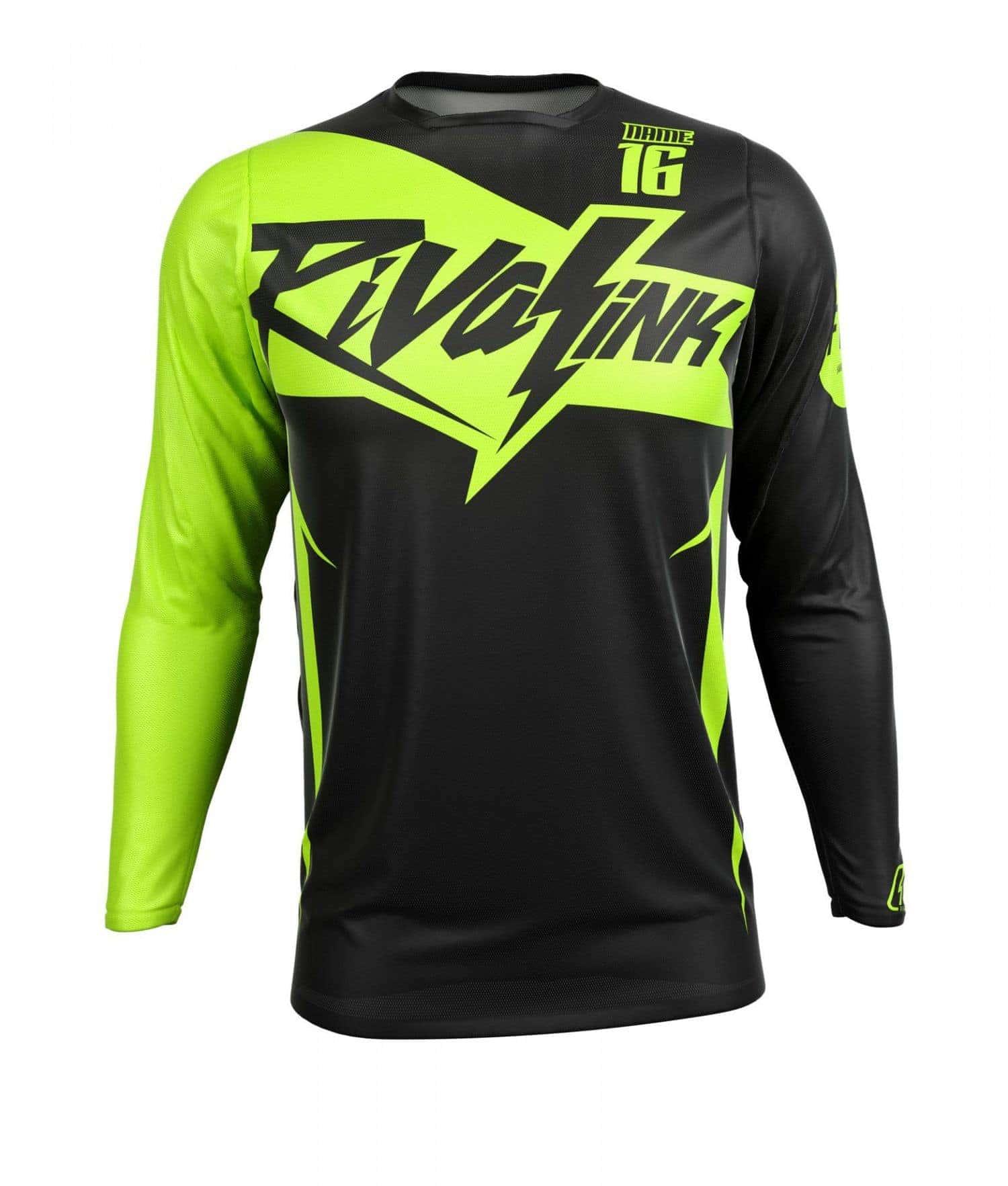 Neon yellow kit rival ink design co custom motocross graphics - Shop