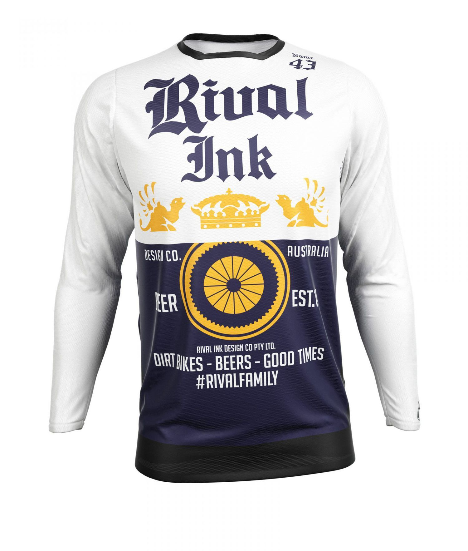 PREMIUM FIT CUSTOM SUBLIMATED JERSEY - BEER ME