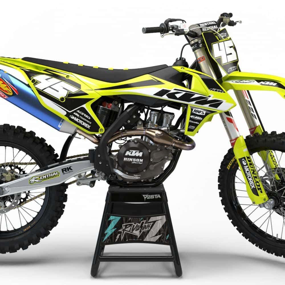 Graphic Kits For Neon Yellow Ktm