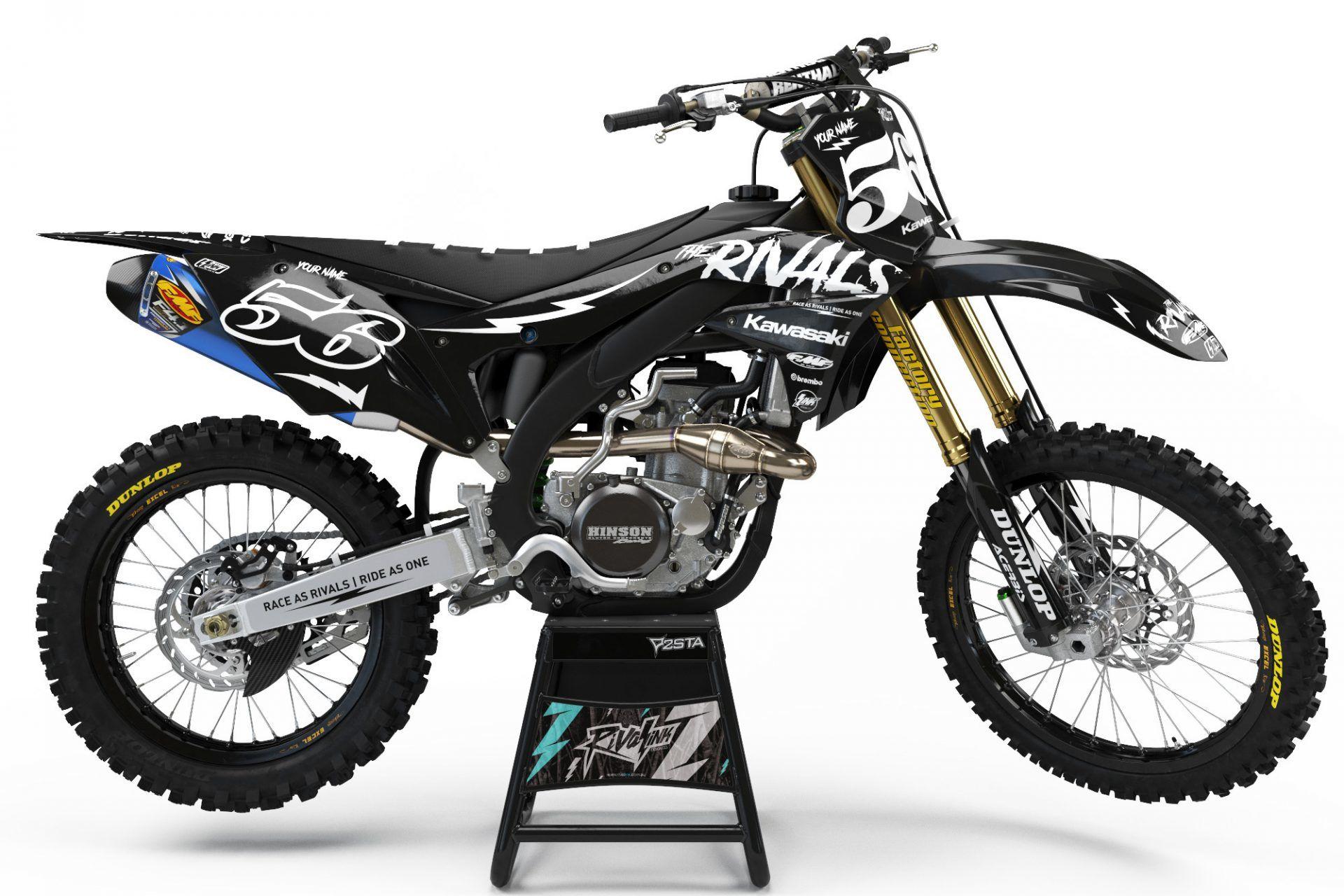 kawasaki 'the rivals' kit - rival ink design co | custom motocross