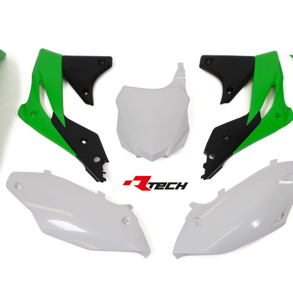 Neon yellow kit rival ink design co custom motocross graphics - Rtech Kxf 250 2013 16 Oem 16 5 Pcs Plastic Kit