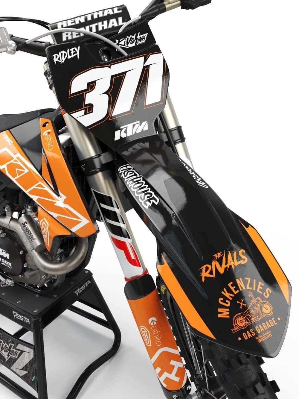 KTM BACKSTREET KIT Rival Ink Design Co