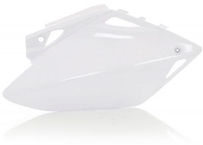for 07-08 Honda CRF450R White Acerbis Side Panel Set